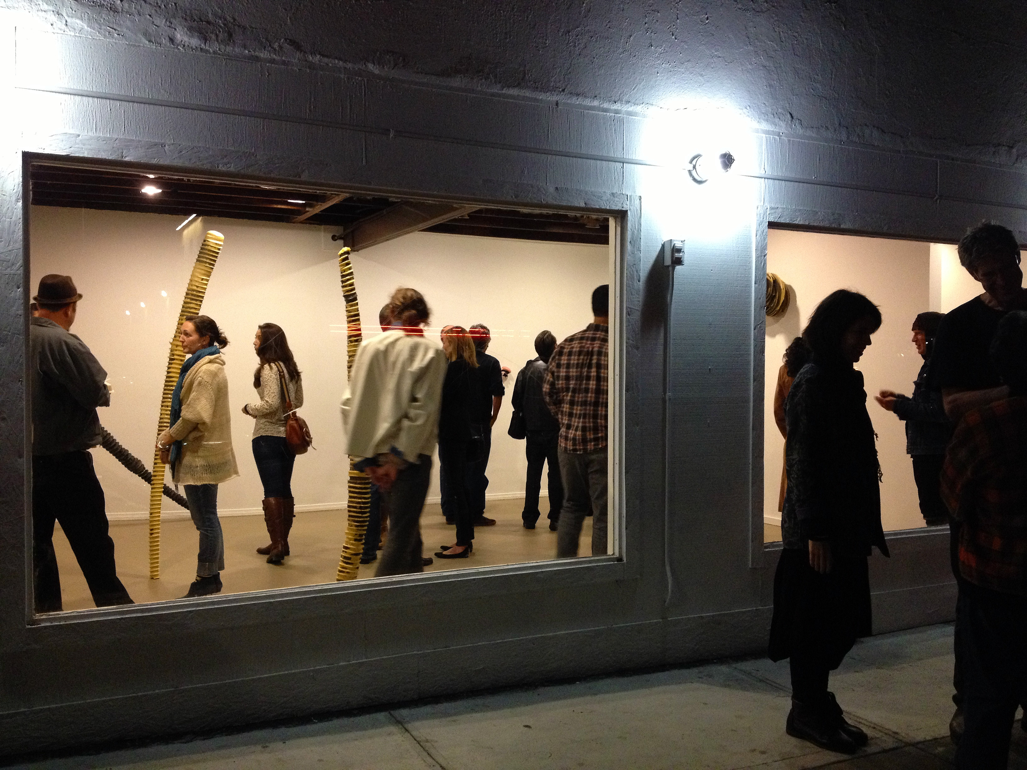 Tom Driscoll opening